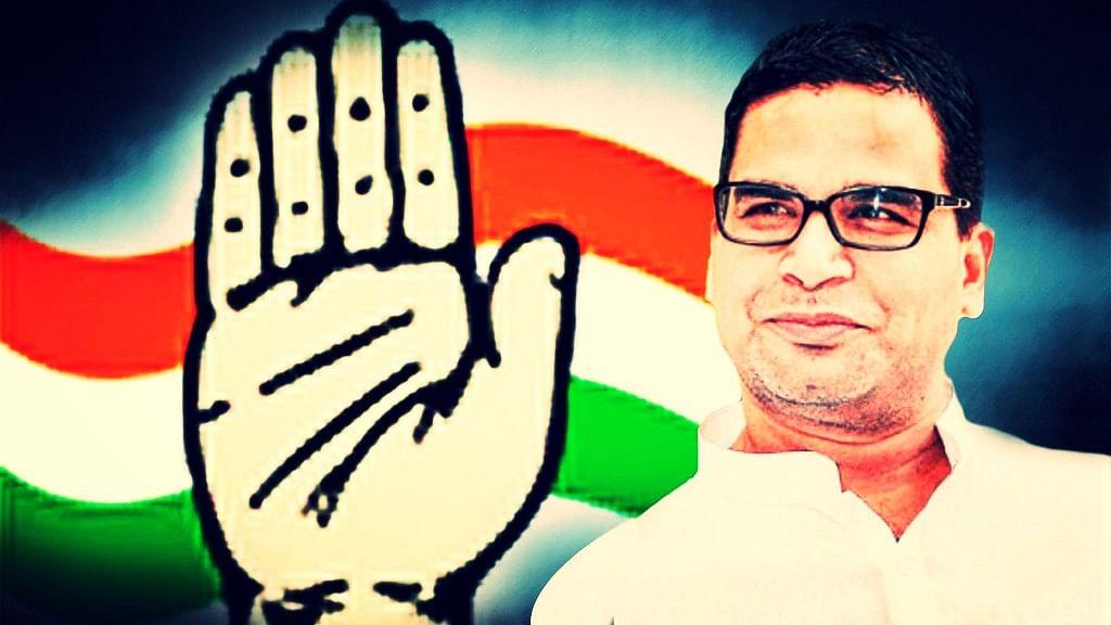 Despite a few differences with Amarinder Singh, Prashant Kishor's master plan ensured the Congress' comeback in Punjab. (Photo: <b>The Quint</b>)
