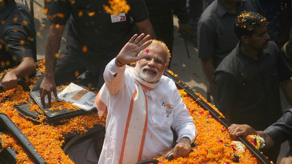 "<div class=""paragraphs""><p>File photo of Prime Minister Narendra Modi during his roadshow in Varanasi.&nbsp;</p></div>"