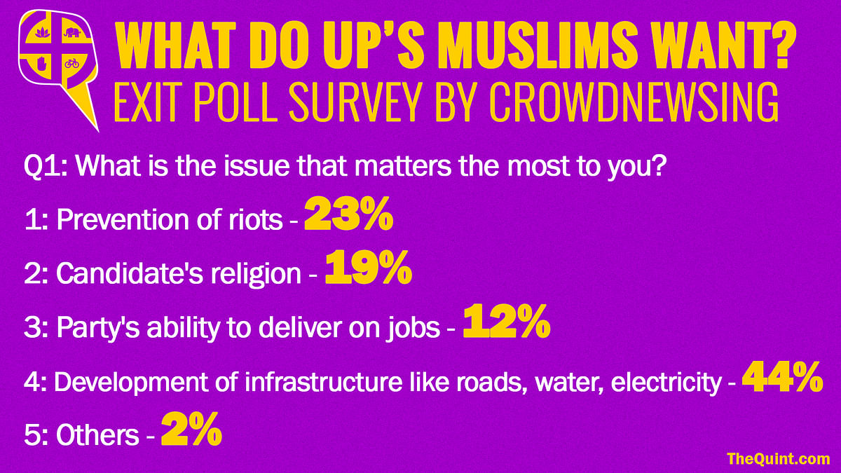 What Do Muslims in UP Want? This Exit Poll Has the Answers