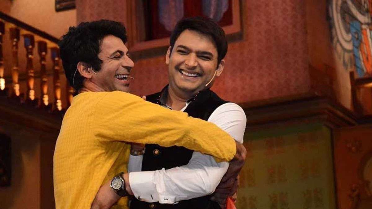 Kapil Sharma with Sunil Grover in happier times.