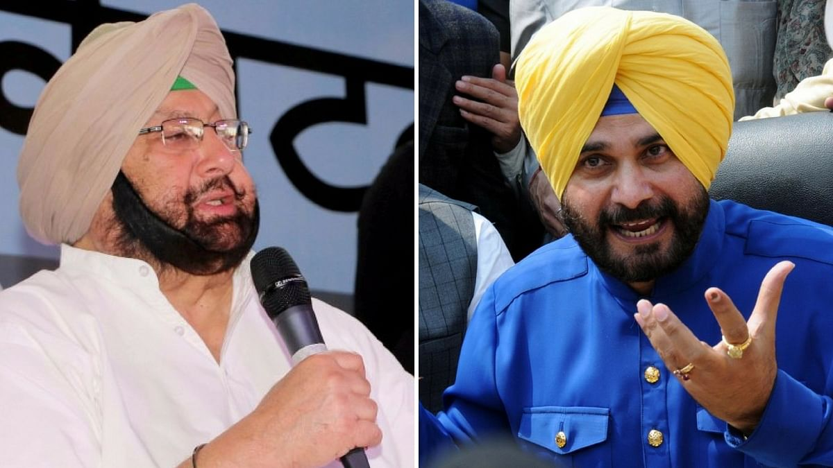 Navjot Sidhu to Join AAP? Here's What Amarinder Singh Said