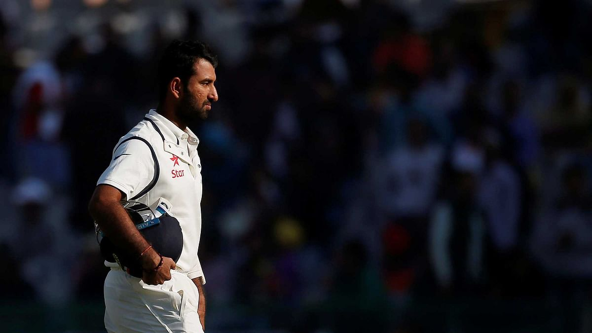 Cheteshwar Pujara, one of the most integral parts of India's current Test team, did not find a buyer in the IPL auction. (Photo: Reuters)