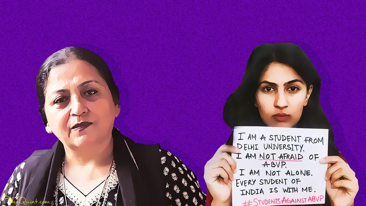 Madhu Kishwar Bashed Gurmehar, But Can She Disown Her Own Words?
