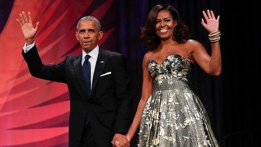 Barack and Michelle Obama. (Photo: AP)