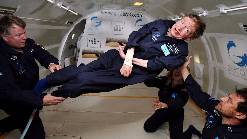 When Stephen Hawking Agreed to Richard Branson Taking Him to Space