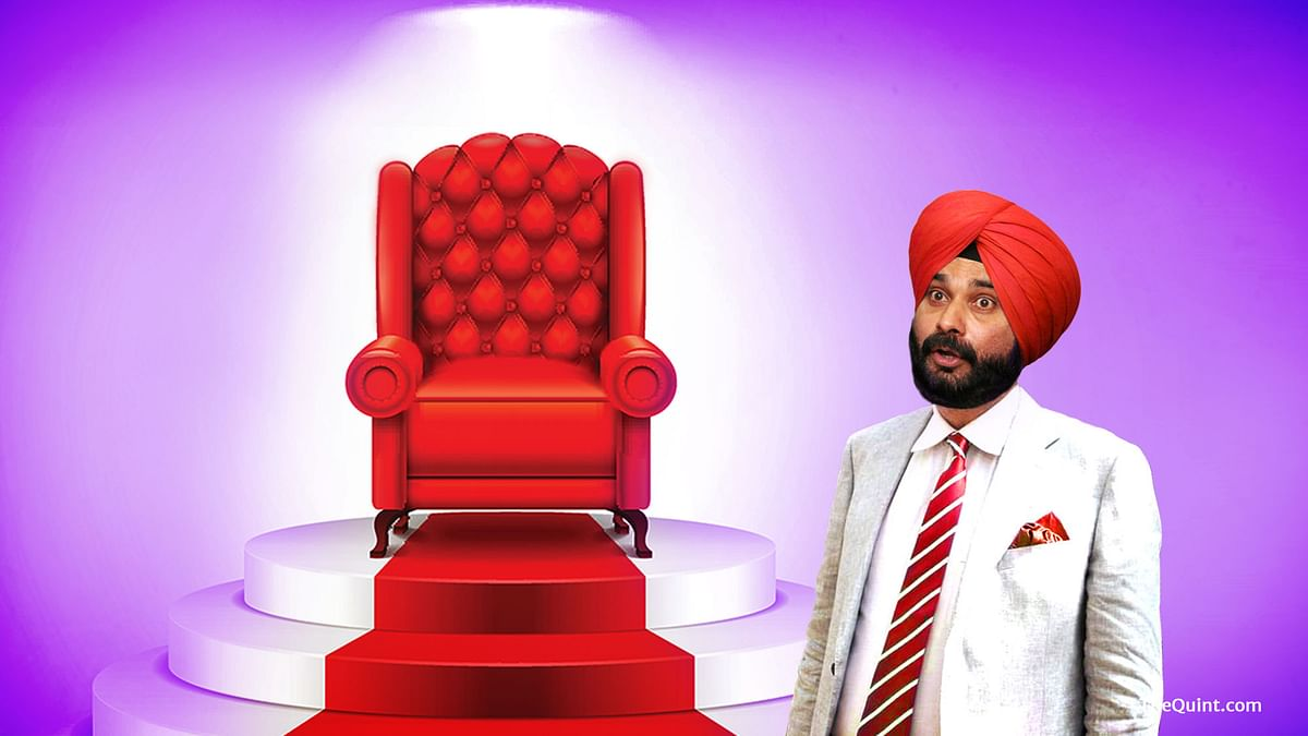 For now, Congress may have pacified Sidhu with a ministerial berth, will that be enough to prevent internal strife? (Photo: Lijumol Joseph/<b> The Quint</b>)