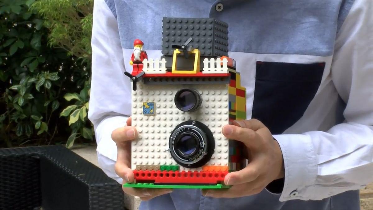 Lego instant camera.