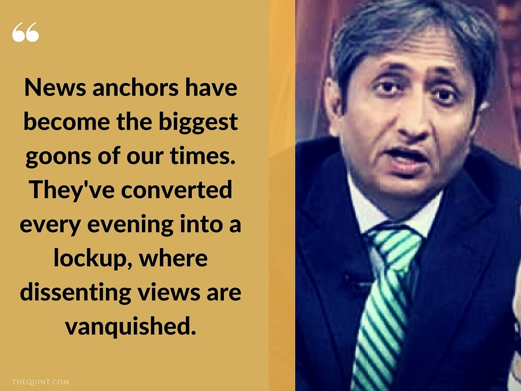 'News Anchors Have Become the Biggest Goons of Our Time'