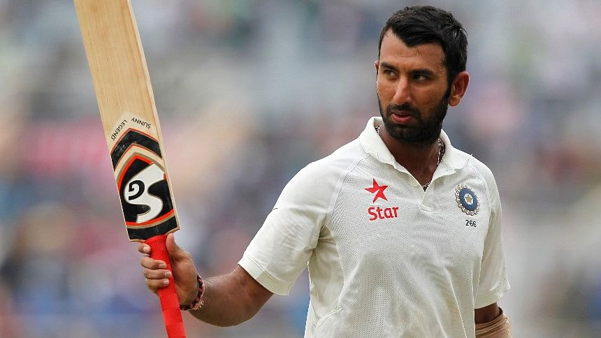 Cannot Say in One Line What Dravid Bhai Means to Me:  Pujara