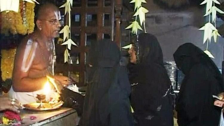 In Annual Custom, Muslims Visit Venkateswara Temple to  Pray