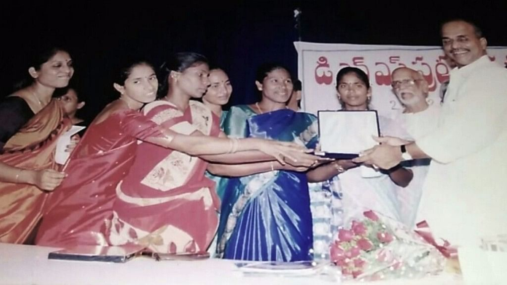 """Navodayam, and the women running it, have also won several awards since its inception. (Photo Courtesy: <a href=""""http://www.thenewsminute.com/article/how-group-six-dalit-women-andhra-empowered-several-thousands-journalism-58288"""">The News Room</a>)"""