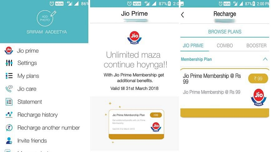 Here's how you can get Jio Prime.