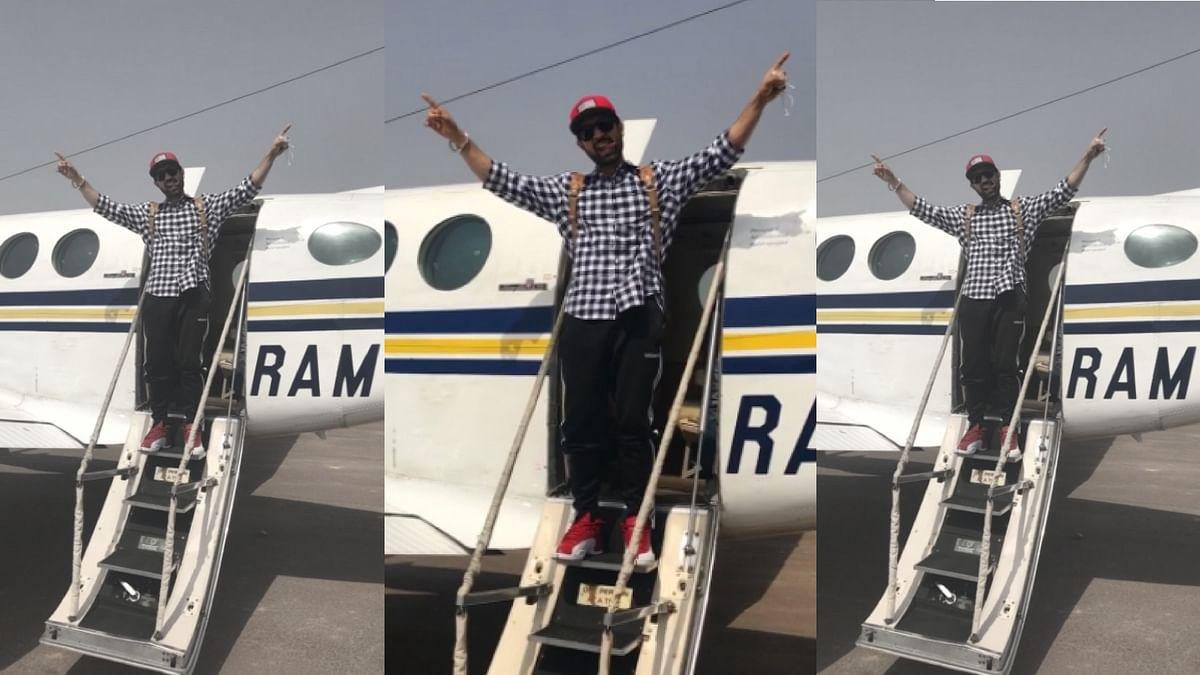 """Thug Life, Jet Life"", says Diljit Dosanjh. (Photo Courtesy: <a href=""https://twitter.com/diljitdosanjh/status/853901355869650944"">Twitter/Diljit Dosanjh</a>)"