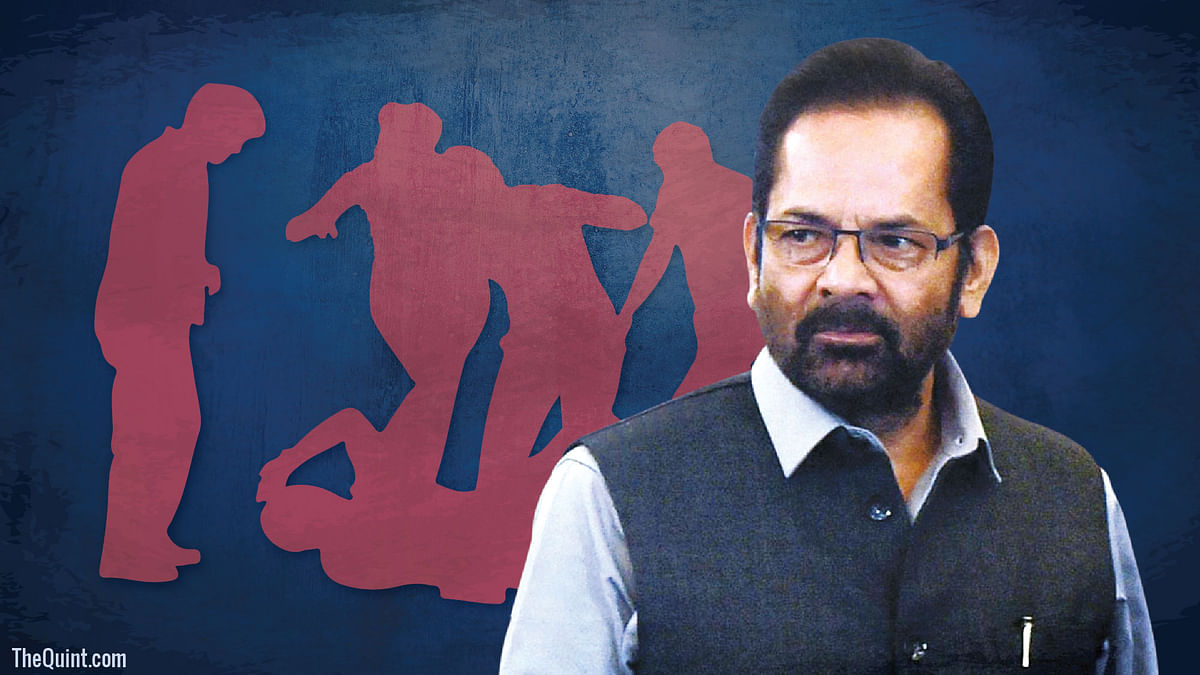 Most Lynching Cases Are Fake: Union Minister Mukhtar Abbas Naqvi