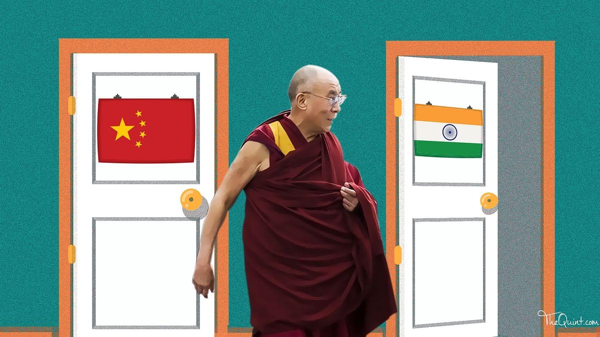 Does India's stand on Dalai Lama's visit to Arunachal suggests Delhi discarding the Hindi Chini Bhai Bhai notion? (Photo: Rhythum Seth/ <b>The Quint</b>)