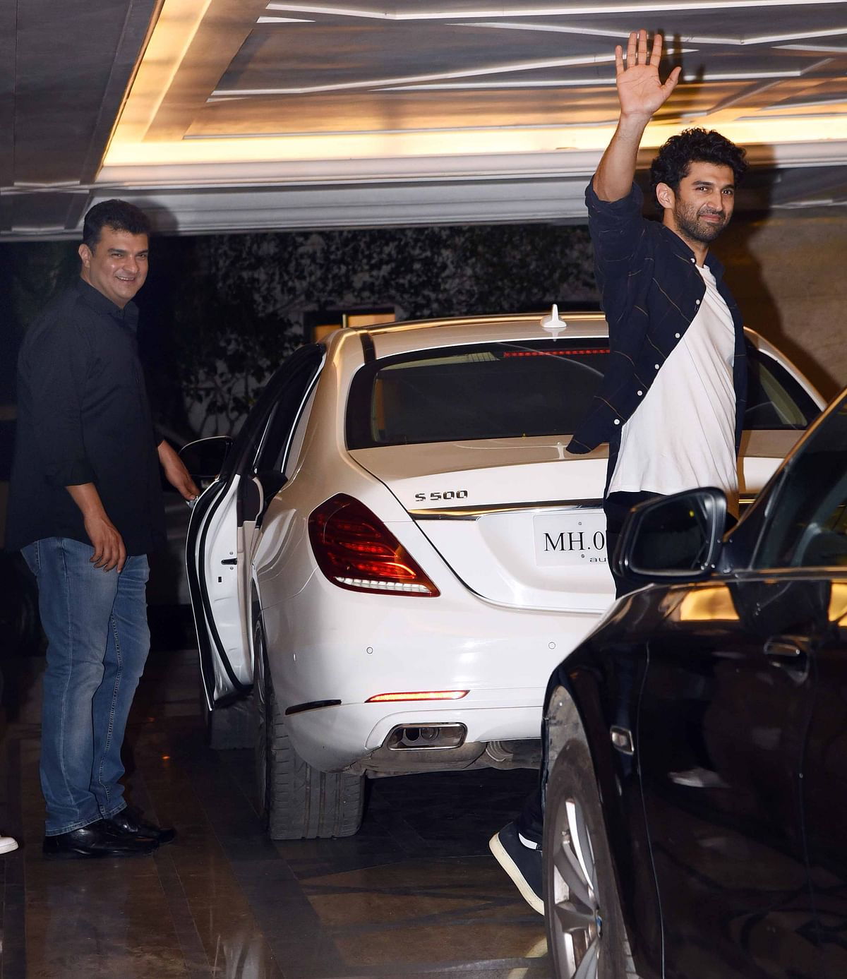 Brothers Siddharth Roy Kapur and Aditya Roy Kapur smile for the camera. (Photo: Yogen Shah)