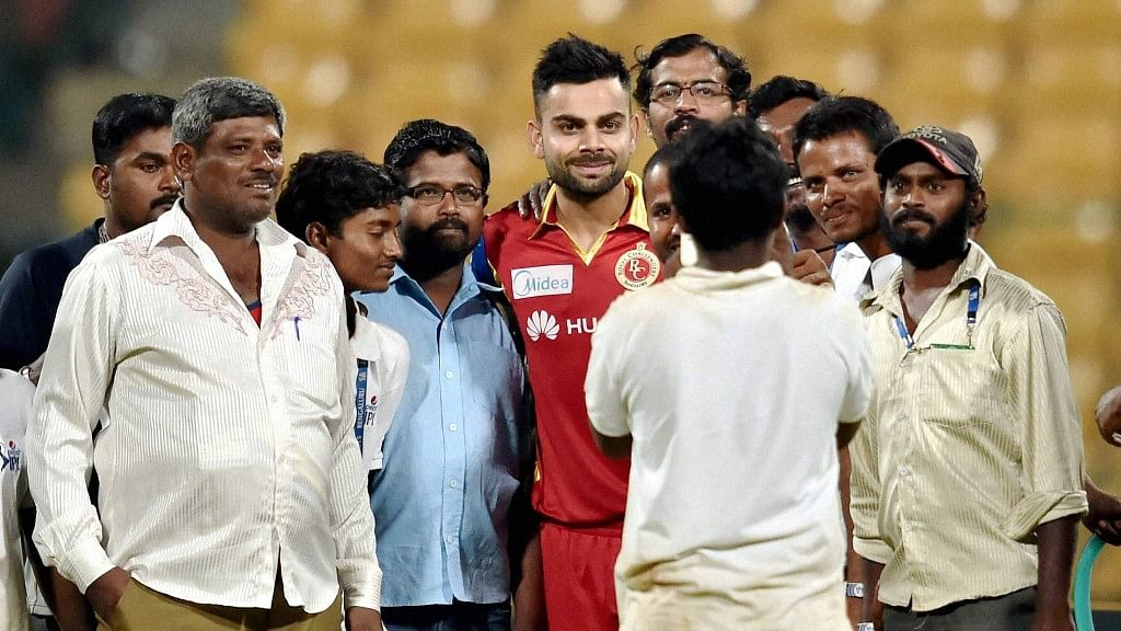 Virat Kohli has joined the Royal Challengers in Bengaluru. (Photo Courtesy: BCCI)