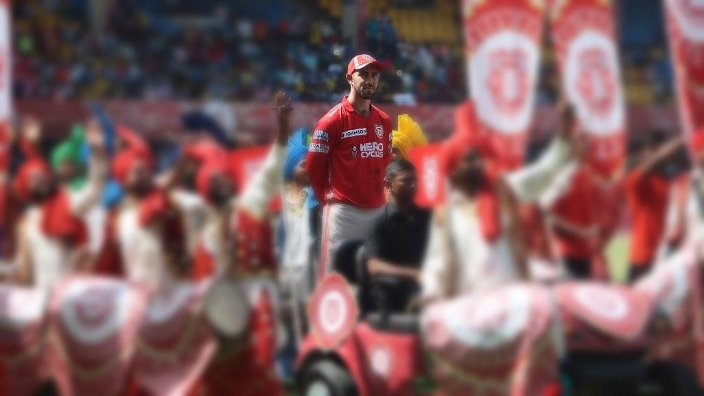 Kings XI Punjab captain Glenn Maxwell during inauguration of IPL 2017. (Photo: IANS)
