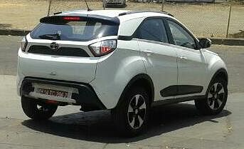 Rear shot shows us how the design of Tata Motors car has changed.