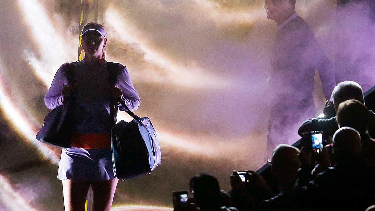 Maria Sharapova made her pro comeback on Wednesday. (Photo: AP)