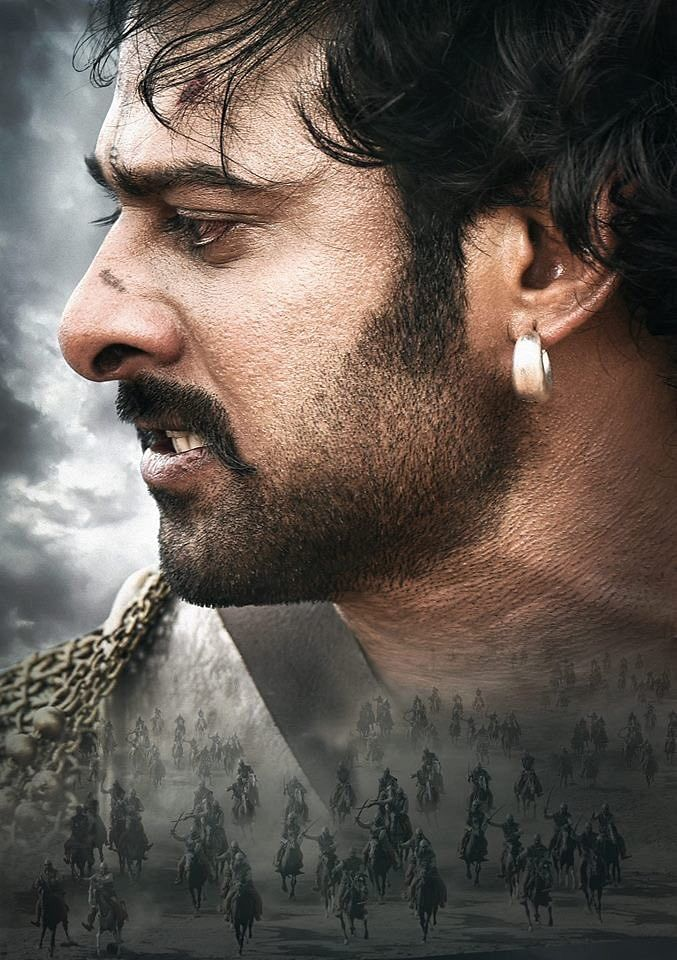 Prabhas as Baahubali lives up to the larger than life image that the film creates for him.