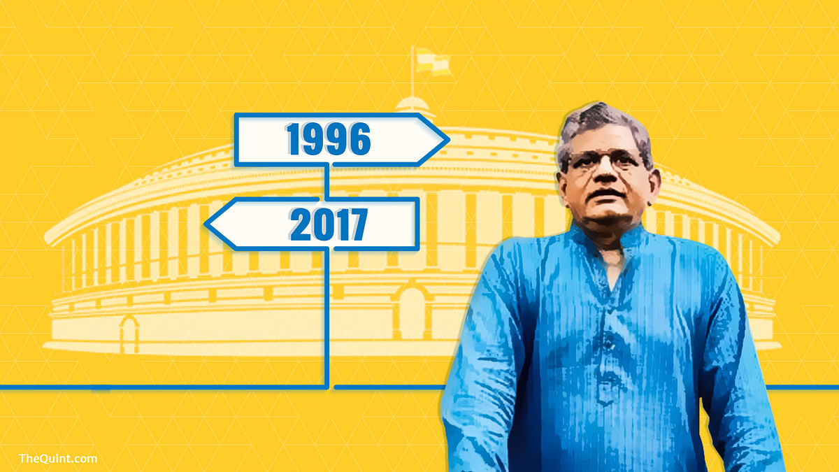 When opposition is lending support to Yechury for another term in Rajya Sabha, why is the Left dragging its feet? (Photo: Lijumol Joseph/ <b>The Quint</b>)