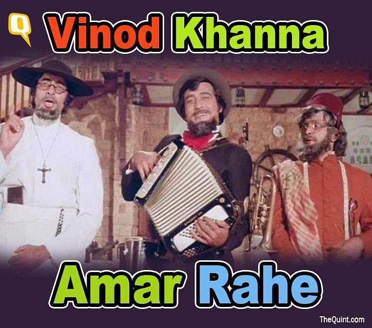 Long live Vinod Khanna