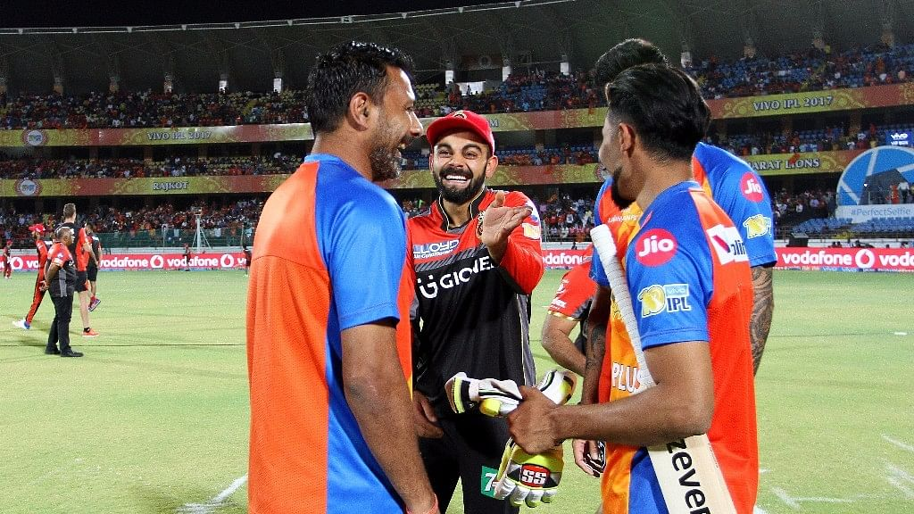 This picture of Virat and Jadeja has gone viral . (Photo: BCCI)