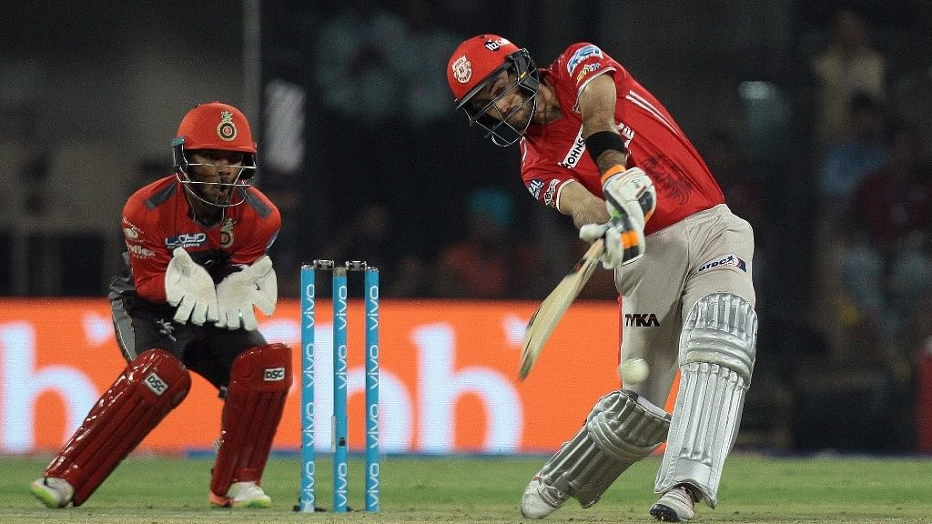 Glenn Maxwell has played for Kings XI Punjab in four seasons of the IPL.