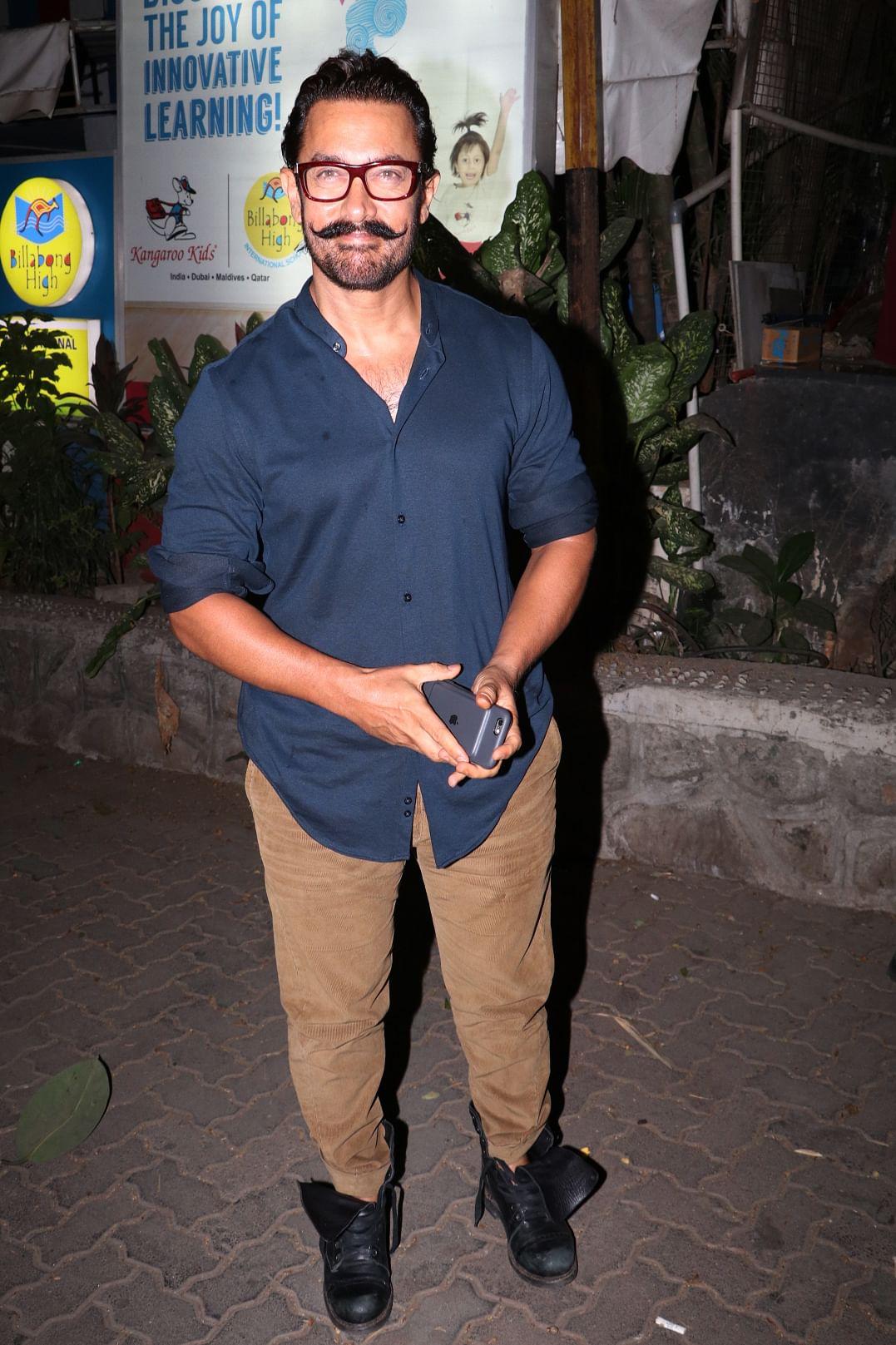 Aamir Khan looks like leaner and meaner. (Photo: Yogen Shah)