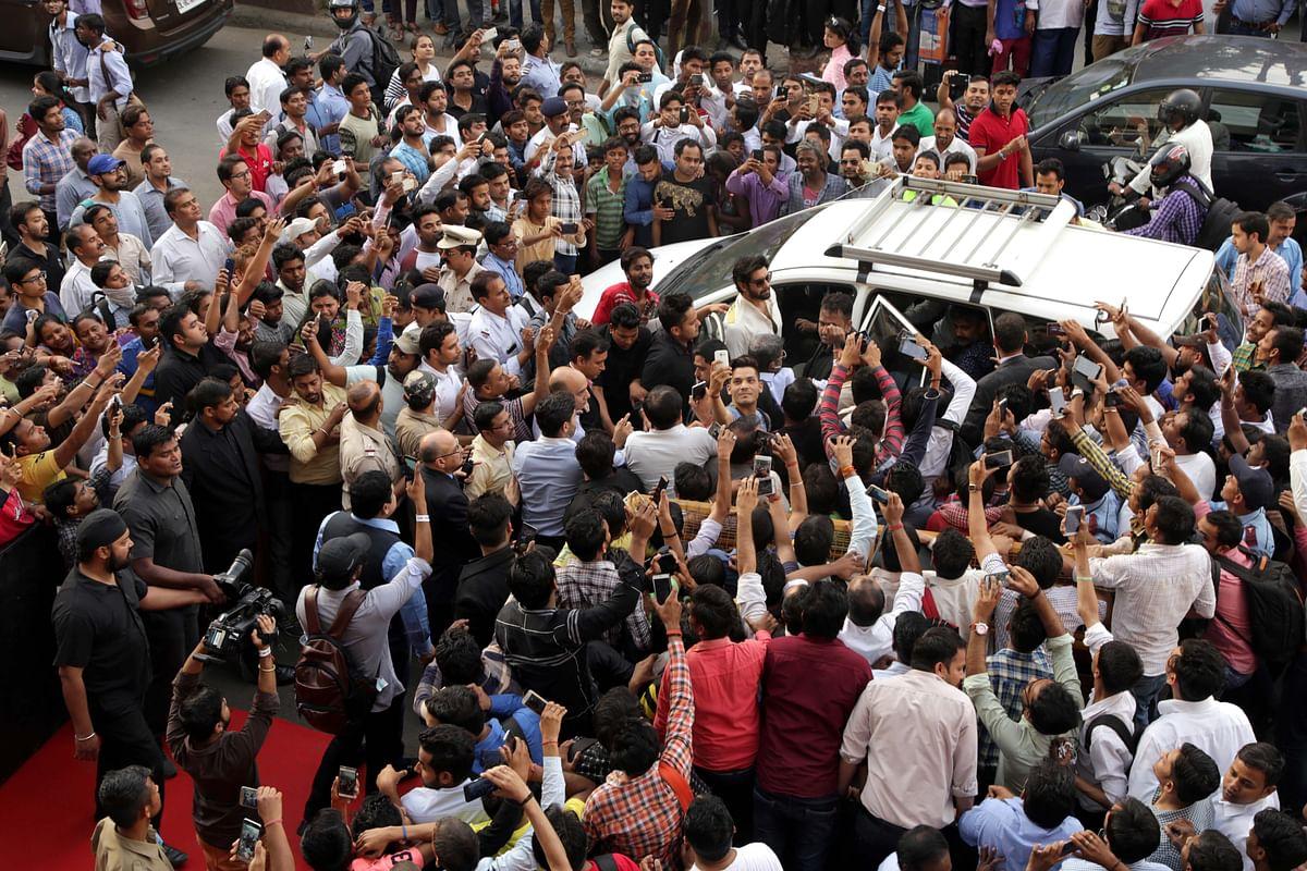 All the Baahubali fans. (Photo: Yogen Shah)