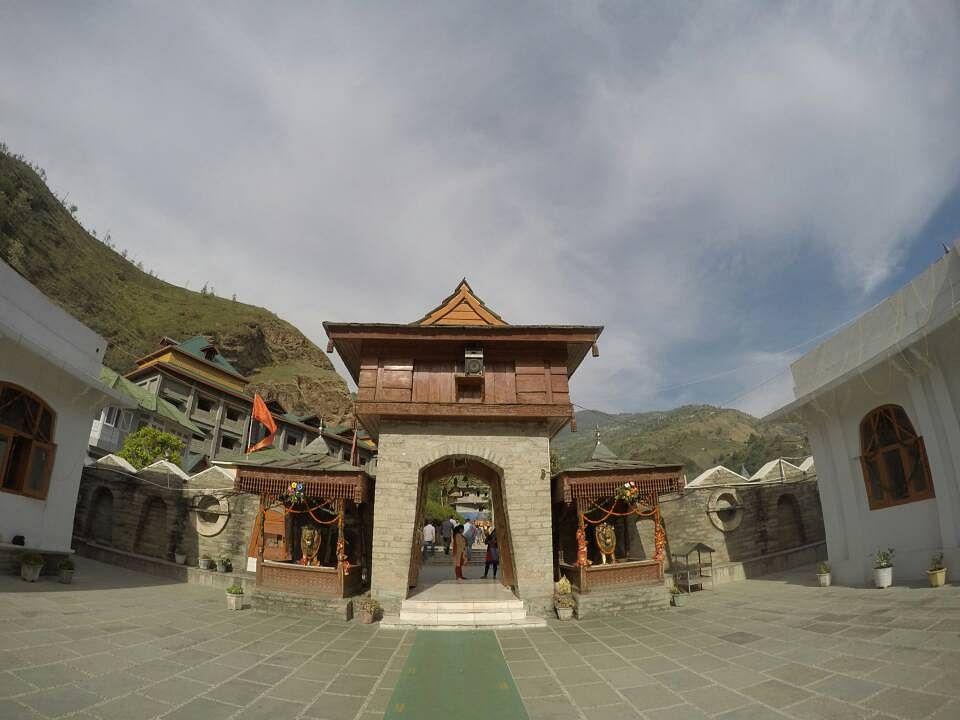 Hatkoti temple.