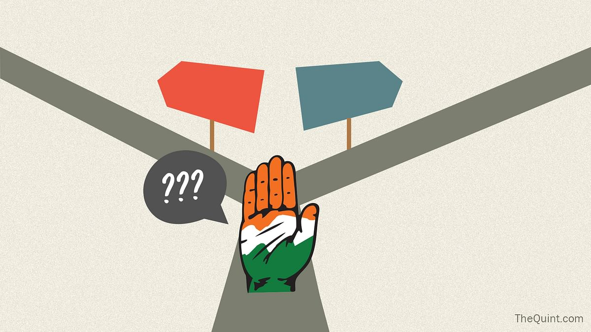 For Congress, the fight was always for the second spot. Photo: Rahul Gupta/ <b>The Quint</b>)
