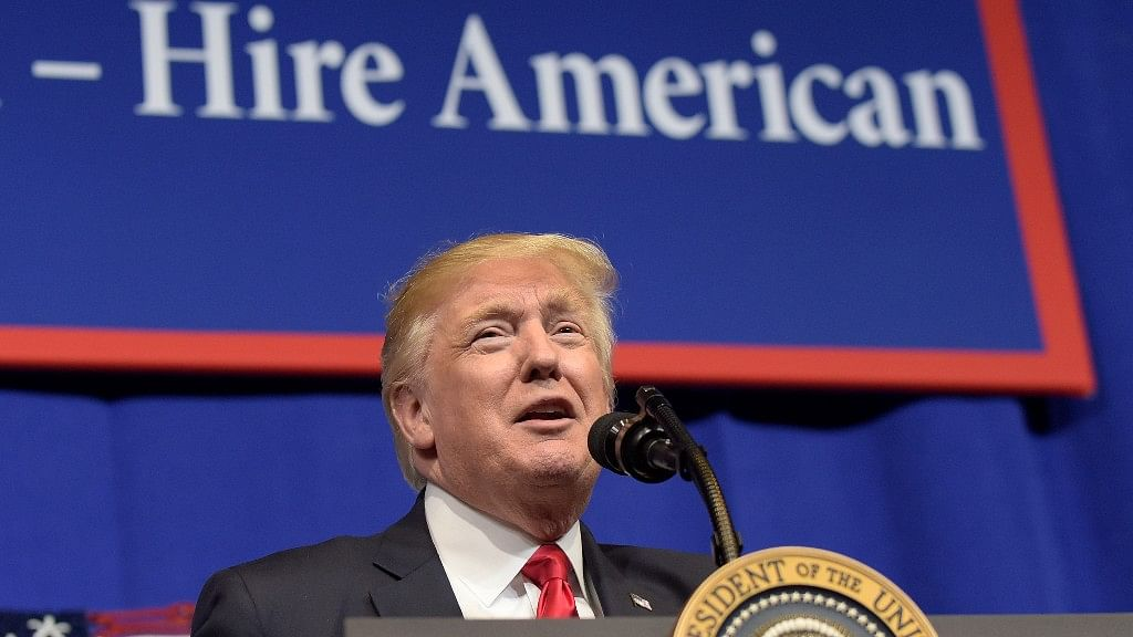 Vague on many fronts, but one objective is to modify or replace the current lottery for H-1B visas. (Photo: AP)