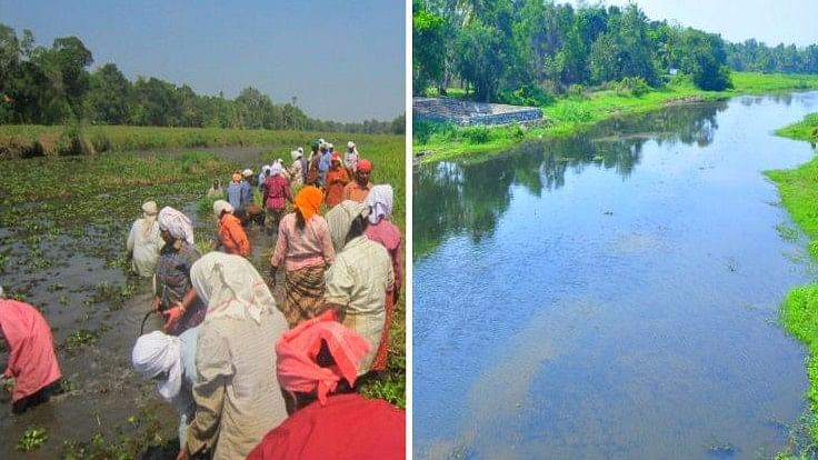 The revival of Kuttemperoor is testament to the claim that rivers can be brought back to life no matter how severe its pollution problems are. (Photo Courtesy: The News Minute)