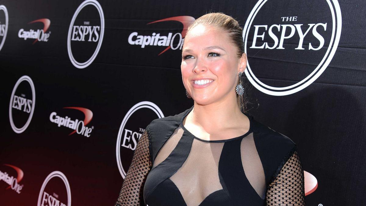 File photo of Ronda Rousey. (Photo: AP)