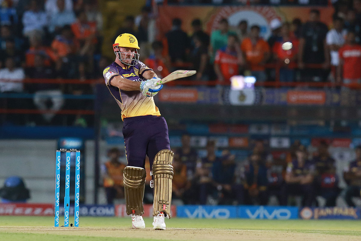 Chris Lynn scored 93 runs off 41 balls against Gujarat Lions. (Photo: BCCI)