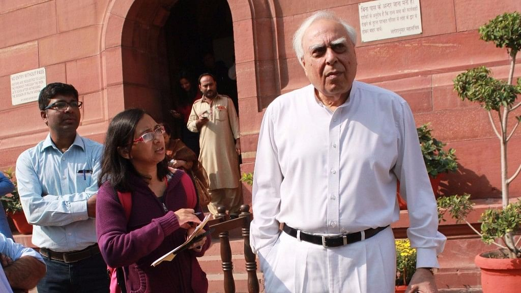 Kapil Sibal voiced that the proof of Congress's 15 years of governance is still visible in the capital. (Photo: IANS)