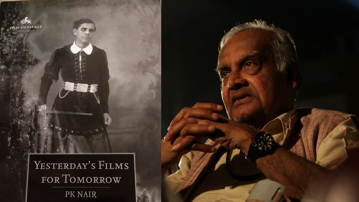"""PK Nair's writings have been compiled into <i>Yesterday's Films For Tomorrow</i>. (Photo courtesy: <a href=""""https://www.facebook.com/pg/filmheritagefoundation/photos/?ref=page_internal"""">Facebook/ Filmheritagefoundation/ vishwagujarat</a>)"""