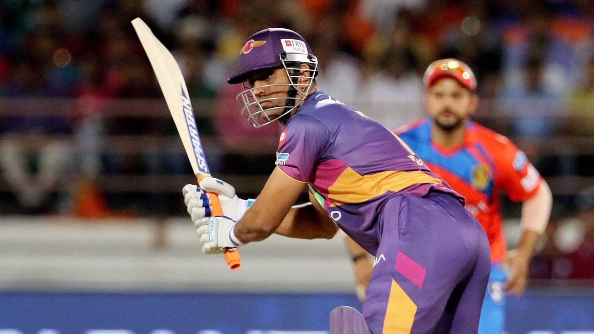 MS Dhoni in action for Rising Pune Supergiant. (Photo: PTI)
