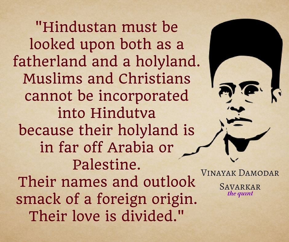 BJP's Hindutva Icon Savarkar on Muslims, Inter-caste Love & Cows