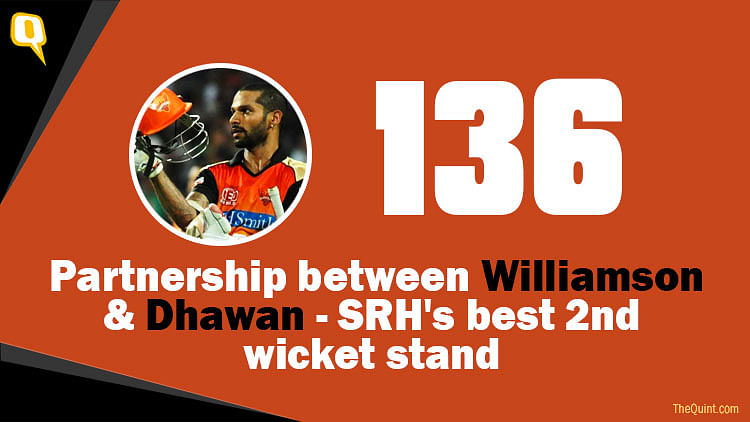 Watch: Williamson's 89 & Dhawan's 70 Guides SRH to 191 vs DD