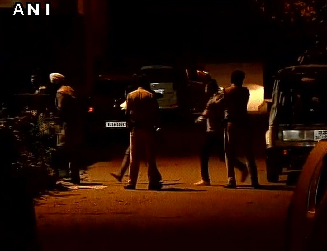 Images from the Chanakyapuri police station. (Photo: ANI)