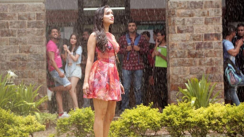 """Shraddha Kapoor in a scene from <i>Baarish</i>, the new song from <i>Half Girlfriend</i>. (Photo courtesy: <a href=""""https://twitter.com/ShraddhaKapoor/status/851804498397806593"""">Twitter/@ShraddhaKapoor</a>)"""