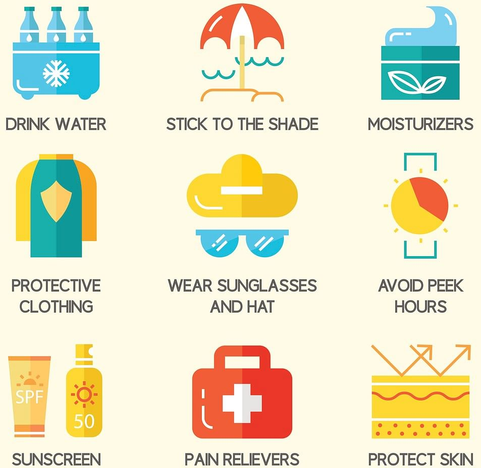 Staying hydrated is essential in harsh summer months. (Graphic: iStock)