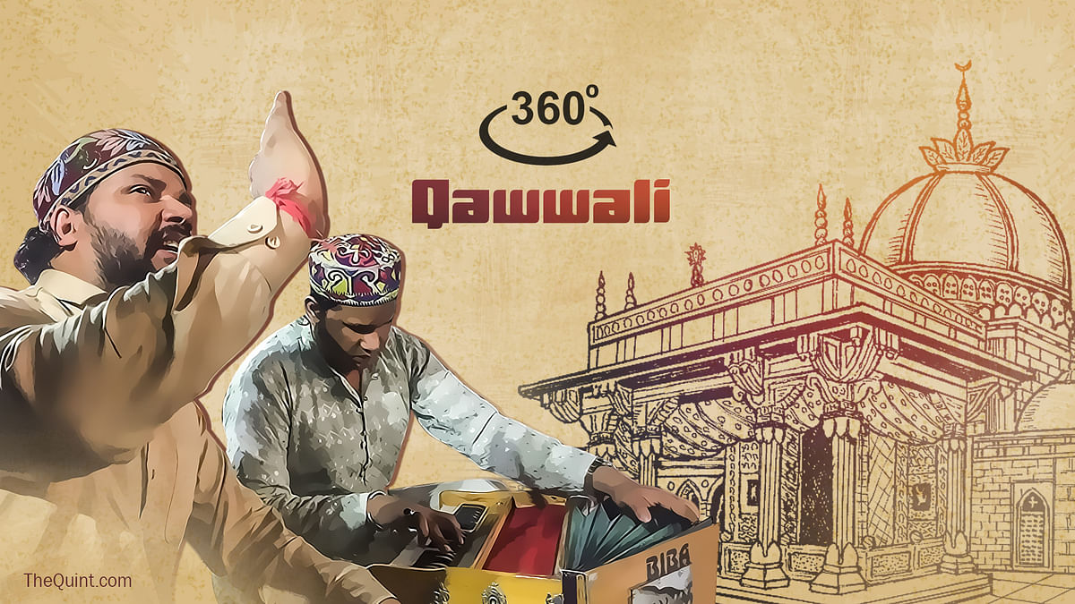 Enjoy the 360-degree Shaam-e-Qawwali.