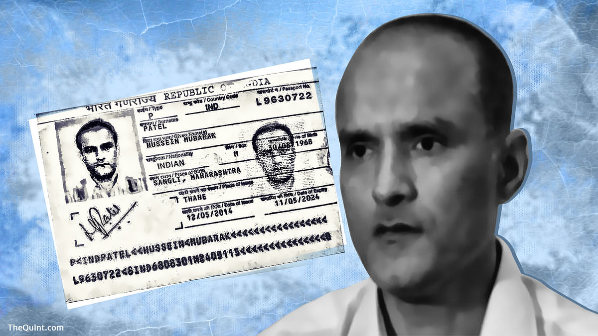 Kulbhushan Jadhav, who Islamabad claims is an Indian spy, has been sentenced to death by a Pakistani military court. (Photo: <b>The Quint</b>)