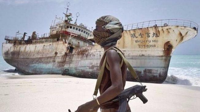 "Al Kausar was hijacked by Somali pirates. Representational Image. (Photo Courtesy: Twitter/<a href=""https://twitter.com/sailorclub"">@<b>sailorclub</b></a>)"