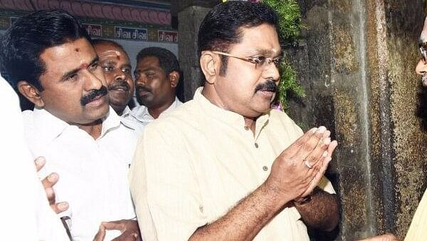 Sukesh allegedly helped Dhinakarn bribe EC officials for the two leaves symbol. (Photo: The News Minute)