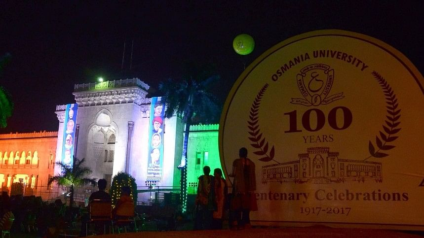 Established in 1917 with 225 students and 25 teachers, it has 1,000 colleges affiliated to it as it turns 100. (Photo: IANS)